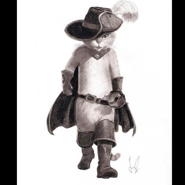 Puss in Boots par sevcat13